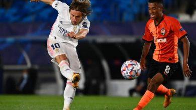 صورة ريال مدريد يخسر أمام شاختار دونيتسك في مباراة مثيرة