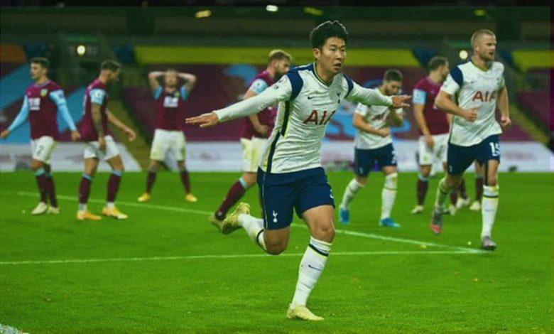 صورة ملخص أهداف مباراة توتنهام هوتسبير وبيرنلي (1-0) اليوم في الدوري الانجليزي