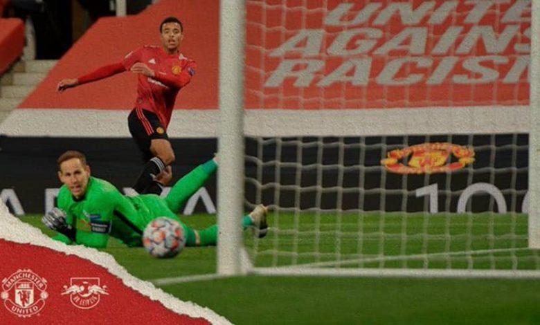 صورة ملخص أهداف مباراة مانشستر يونايتد ولايبزيج (5-0) اليوم في دوري أبطال أوروبا