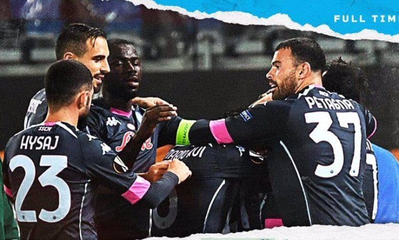 صورة ملخص أهداف مباراة نابولي وريال سوسييداد  (1-0) فى الدوري الاوروبي
