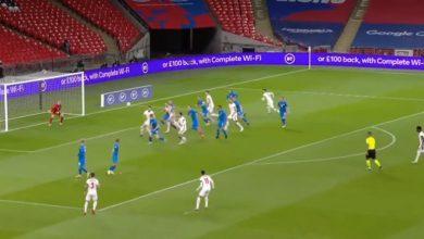 صورة أهداف مباراة إنجلترا وأيسلندا (4-0) اليوم في دوري الأمم الأوروبية