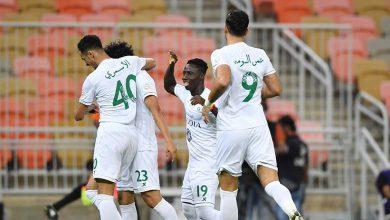 صورة أهداف مباراة الأهلي والشباب (2-2) اليوم في الدوري السعودى