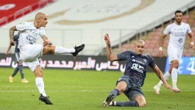 صورة أهداف مباراة الأهلي والفيصلي (2-1) اليوم في الدوري السعودى