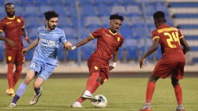 صورة أهداف مباراة القادسية والباطن (2-2) اليوم في الدوري السعودى