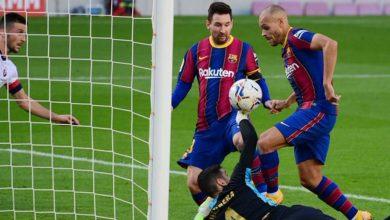 صورة أهداف مباراة برشلونة وأوساسونا (4-0) اليوم في الدوري الاسباني