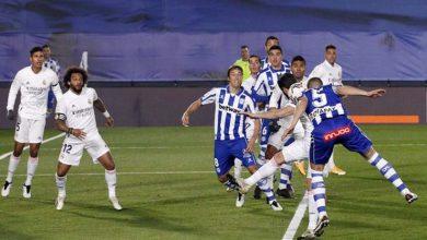 صورة أهداف مباراة ريال مدريد وديبورتيفو ألافيس (1-2) اليوم في الدوري الاسباني