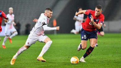 صورة أهداف مباراة ميلان وليل (1-1) اليوم في الدوري الأوروبي