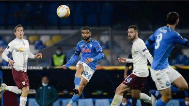 صورة أهداف مباراة نابولي وريجيكا (2-0) اليوم في الدوري الأوروبي