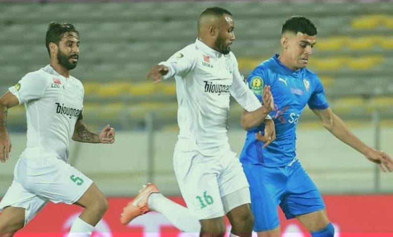 الرجاء المغربي يعلن خبر صادم لجماهير الزمالك قبل مباراة الاياب