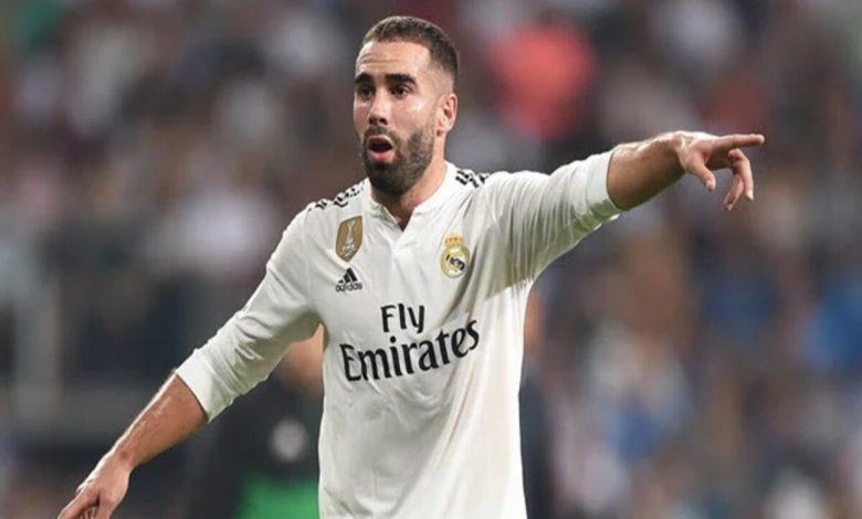 ريال مدريد يعلن إصابة داني كارفاخال