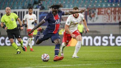 صورة ملخص أهداف مباراة باريس سان جيرمان و لايبزيج (1-2) اليوم فى دوري أبطال أوروبا