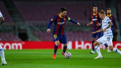 صورة ملخص أهداف مباراة برشلونة و دينامو كييف (2-1) اليوم فى دوري أبطال أوروبا