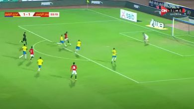 صورة ملخص أهداف مباراة مصر الأوليمبي والبرازيل (2-1) اليوم وديا