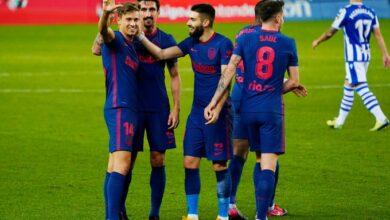 صورة أهداف مباراة أتلتيكو مدريد وريال سوسييداد (2-0) اليوم في الدوري الاسباني
