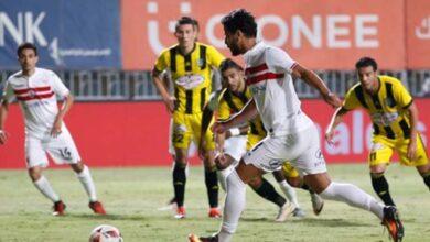 صورة أهداف مباراة الزمالك والمقاولون العرب (2-0) اليوم فى الدورى المصرى