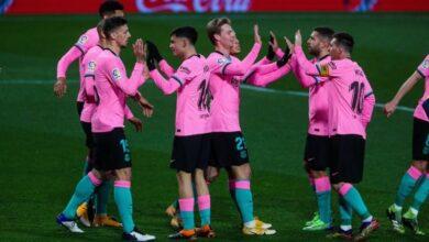 صورة أهداف مباراة برشلونة وبلد الوليد (3-0) اليوم في الدوري الاسباني