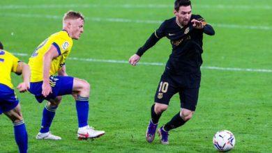 صورة أهداف مباراة برشلونة وقاديش (1-2) اليوم في الدوري الاسباني