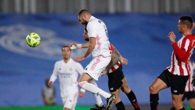 صورة أهداف مباراة ريال مدريد وأتلتيك بيلباو (3-1) اليوم في الدوري الاسباني