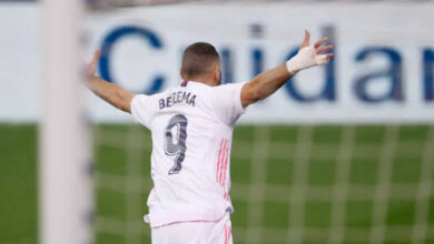 صورة أهداف مباراة ريال مدريد وإيبار (3-1) اليوم في الدوري الاسباني