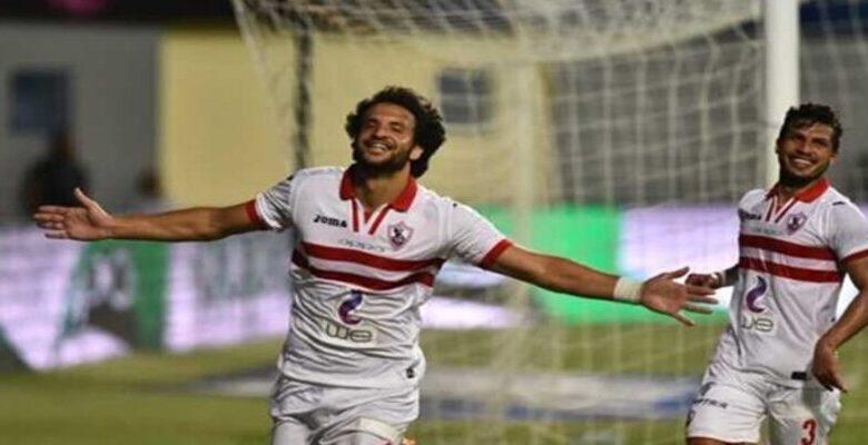 اصابة ثنائي الزمالك محمود علاء وطارق حامد بفيروس كورونا