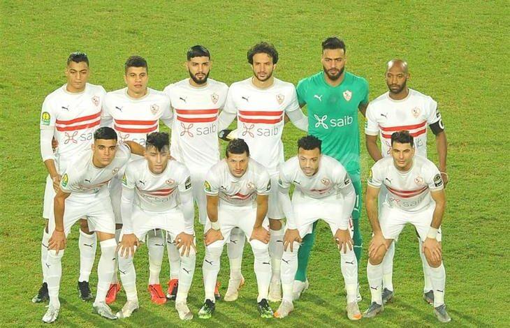 قائمة الزمالك لمواجهة سموحة فى الدوري المصري الممتاز