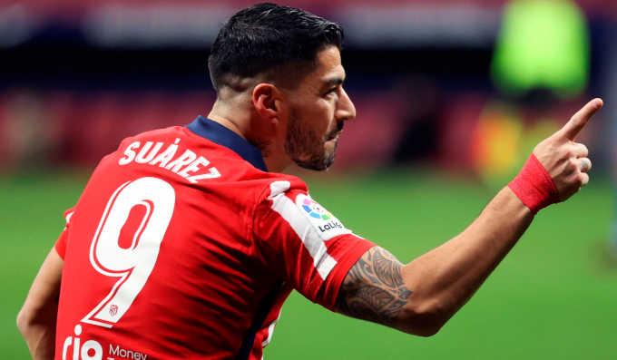 لويس سواريز يقود أتلتيكو مدريد لانتصار جديد فى الليجا على خيتافي