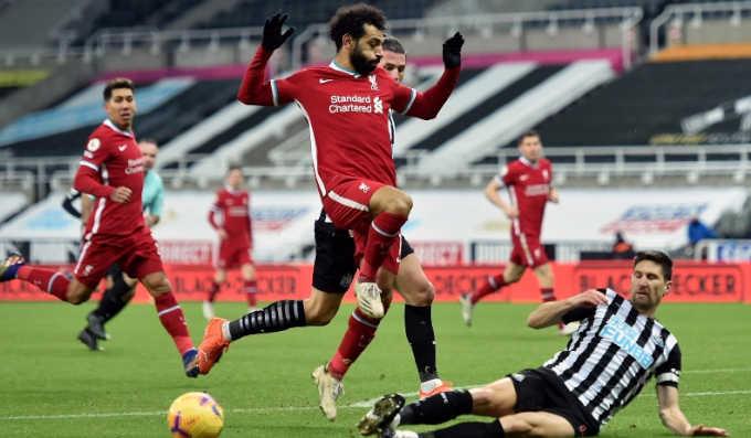 ليفربول يسقط فى فخ التعادل امام نيوكاسل يونايتد