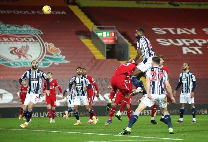 ليفربول يقع فى فخ التعادل امام وست بروميتش ألبيون