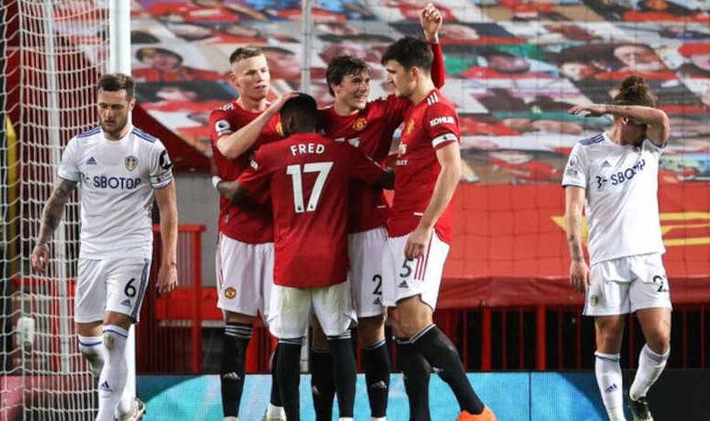 مانشستر يونايتد يكتسح ليدز يونايتد بسادسية ساحقة فى أولد ترافورد