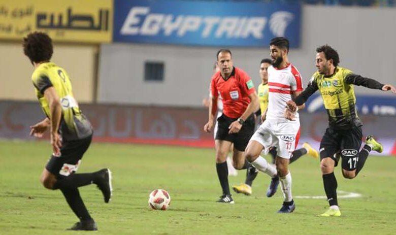 نتيجة مباراة الزمالك والمقاولون العرب
