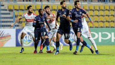 صورة نتيجة مباراة الزمالك وبيراميدز اليوم فى الدورى المصرى