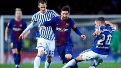 صورة نتيجة مباراة برشلونة وريال سوسيداد اليوم فى الدورى الإسبانى