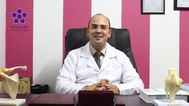 صورة تعيين دكتور أحمد أبو عبلة طبيبا للفريق الأول بالنادى الأهلى