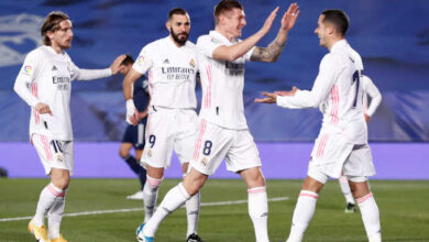 صورة أهداف مباراة ريال مدريد وسيلتا فيغو (2-0) اليوم في الدوري الاسباني