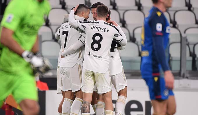 صورة أهداف مباراة يوفنتوس وأودينيزي (4-1) اليوم في الدوري الإيطالي