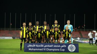 صورة الاتحاد السعودي يبلغ نهائي بطولة كأس محمد السادس على حساب نظيره الشباب