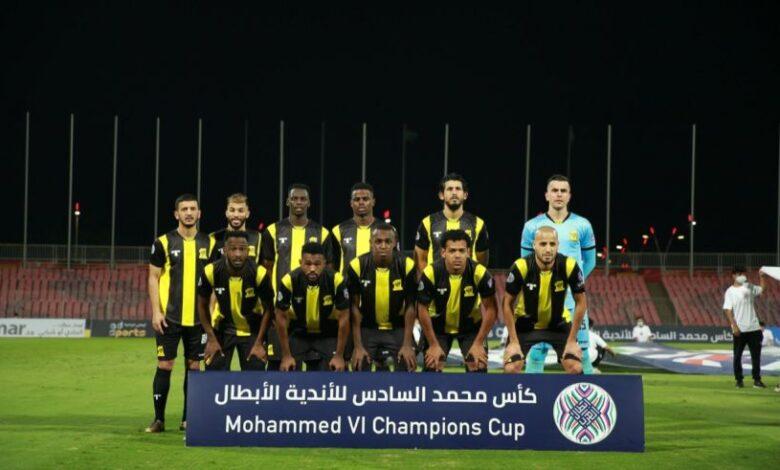 الاتحاد السعودي يبلغ نهائي بطولة كأس محمد السادس على حساب نظيره الشباب