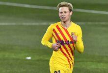 صورة دي يونغ يقود برشلونة الي انتصار جديد في الليجا علي حساب نادي هويسكا