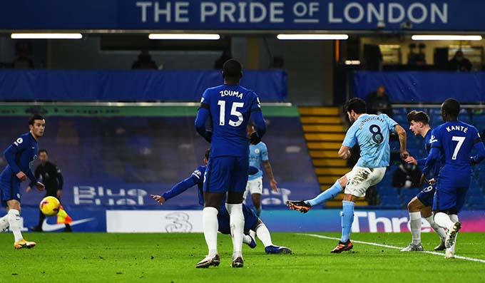 صورة مانشستر سيتي يمطر شباك تشيلسي بثلاثة اهداف فى الدوري الانجليزي