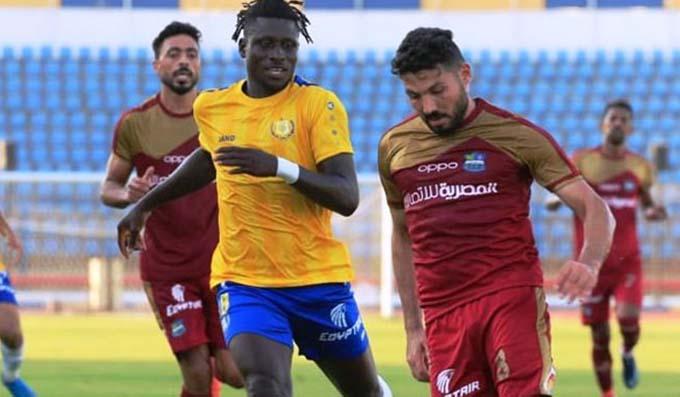 مصر المقاصة يمطر شباك الإسماعيلي بثلاثة اهداف ويصعد الى المركز السابع